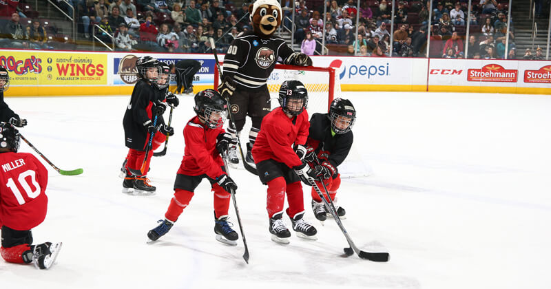 Youth On Ice at the Giant Center