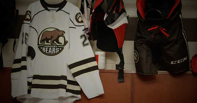 Hershey Bears Locker Room