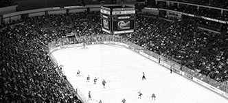 Giant Center ice